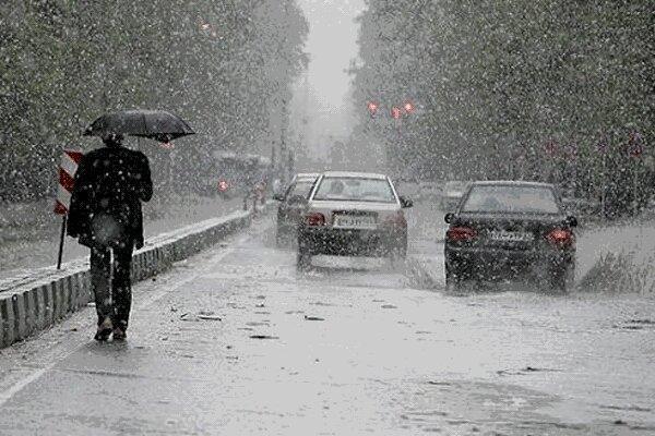 بارش باران و برف آذربایجان غربی را فراگرفت
