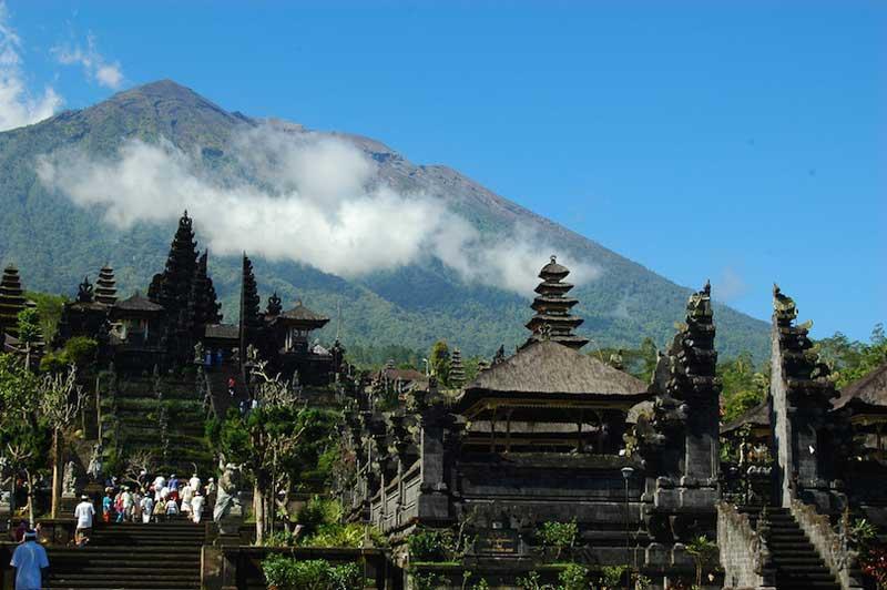 زیباترین معابد اندونزی
