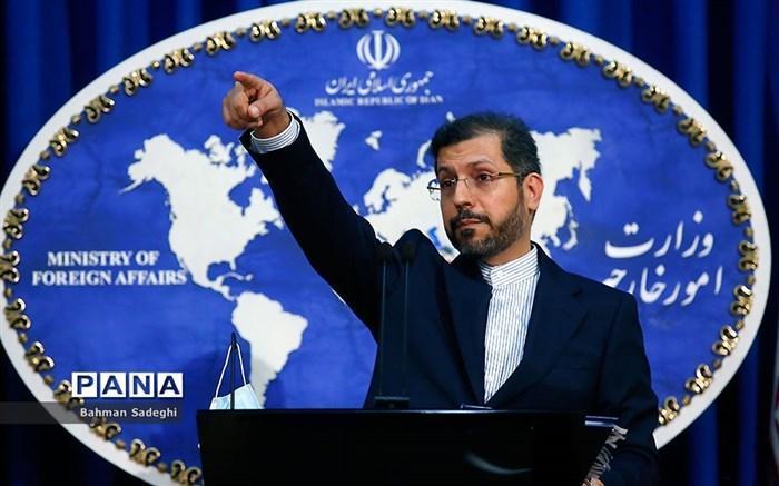 خطیب زاده: فعالیت های صلح آمیز هسته ای ایران کاملا قانونی و مشروع دنبال می گردد