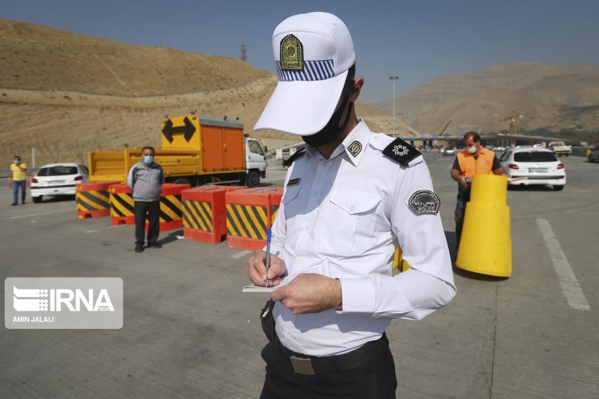 خبرنگاران تخلف ثبت شده رانندگان مُجاز پس از رفع محدودیت، اصلاح می شود