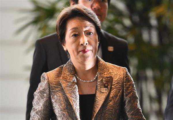 کناره گیری وزیر المپیک ژاپن